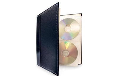 Elegant DVD Storage Albums by Bellagio Italia