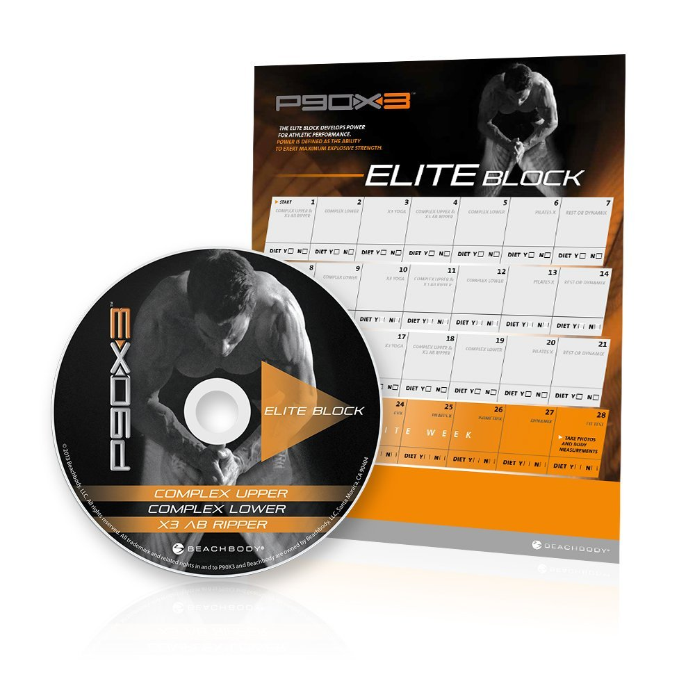 p90x3 elite block with Ab Ripper
