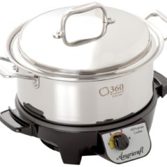 Review: 360 Cookware ID004-GC Gourmet Slow Cooker, 4-Quart