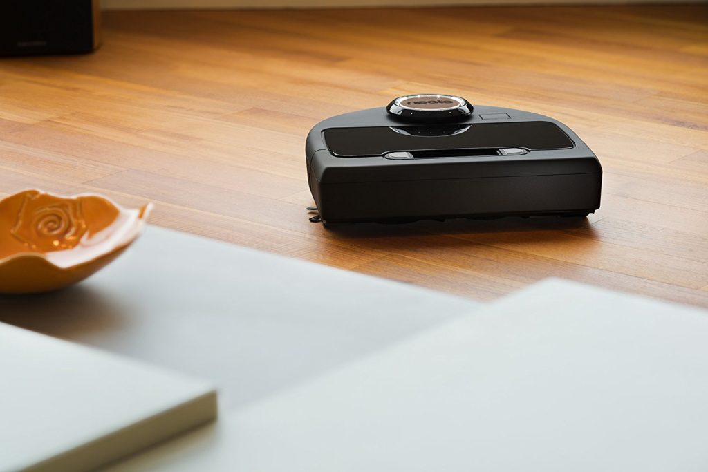Neato Botvac Robot Vacuum Cleaning floor