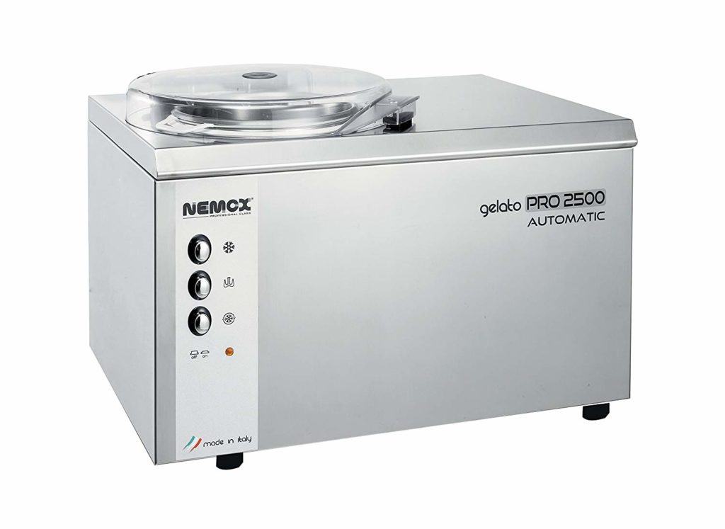 Nemox Pro 2500 Ice Cream and Gelato Maker